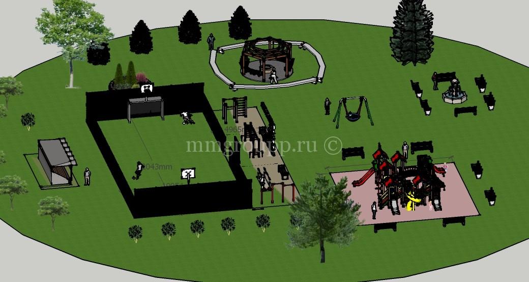 Проект освоения территории общего пользования в ДНП Волна фото 6
