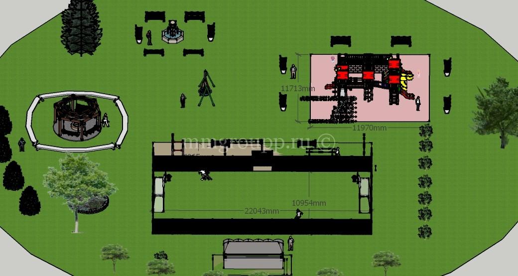Проект освоения территории общего пользования в ДНП Волна фото 7