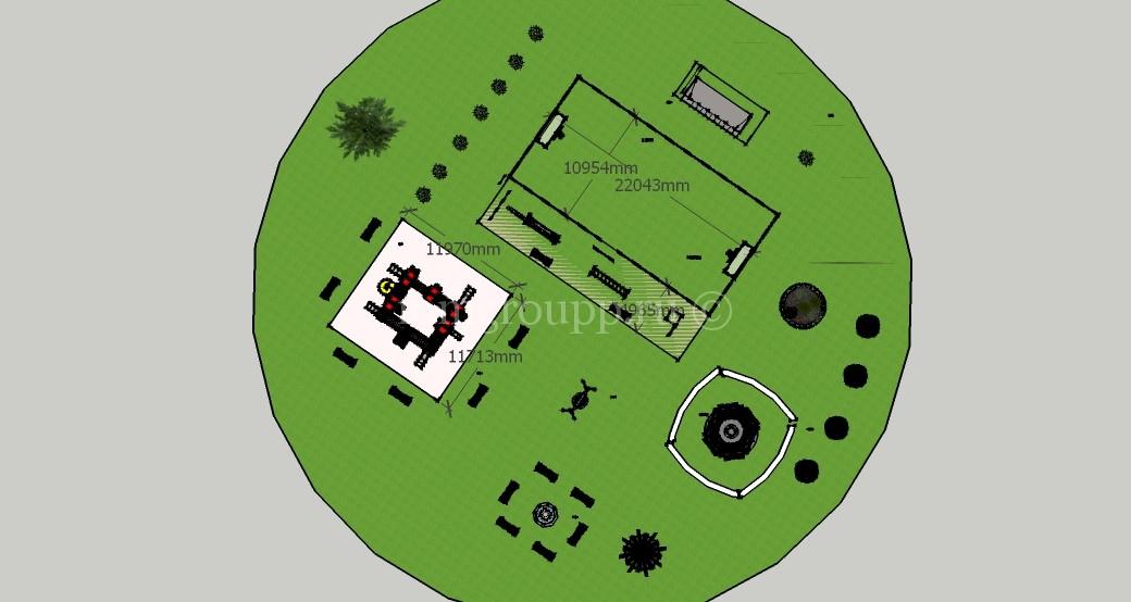 Проект освоения территории общего пользования в ДНП Волна фото 9