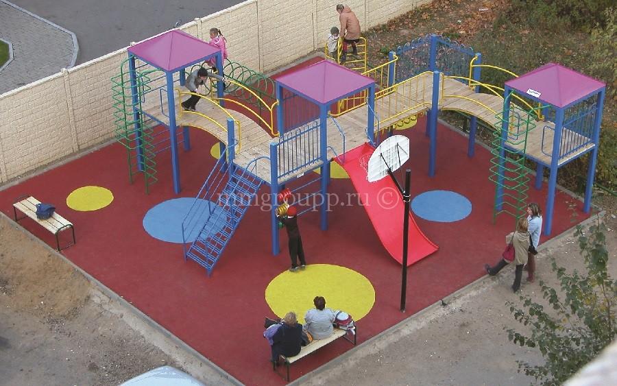 План детской площадки в ДНП Волна