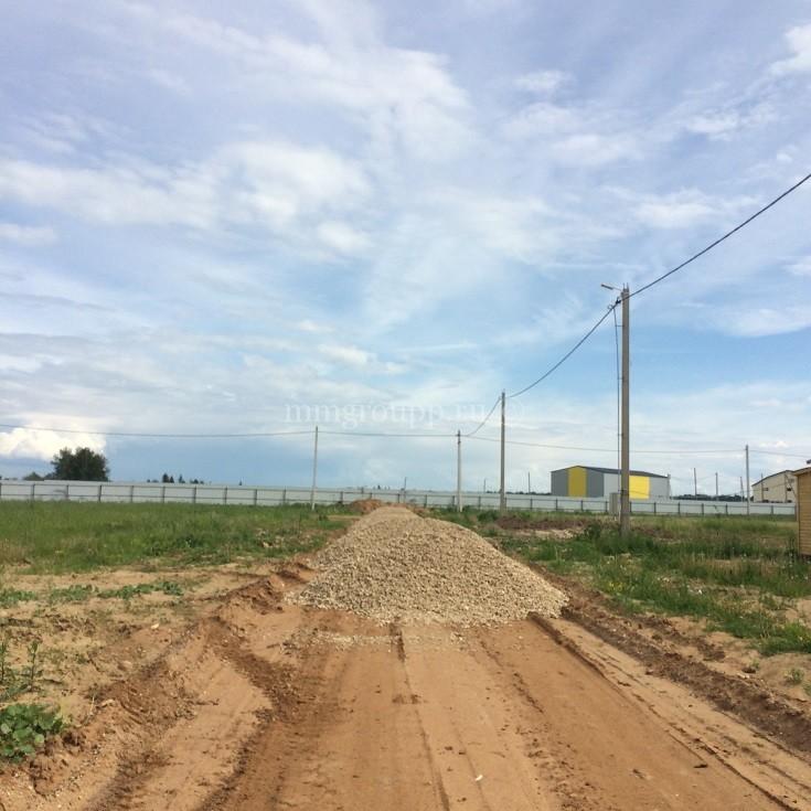 Строительство дороги на Большом поле