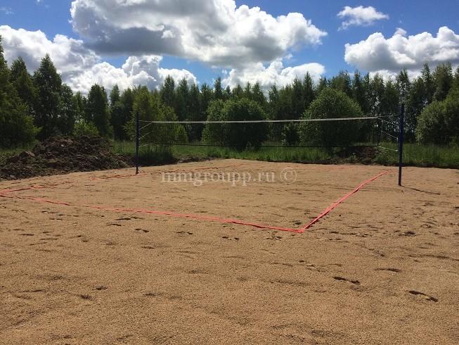 Волейбольная площадка готова