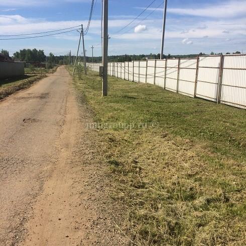 Покос травы на землях общего пользования