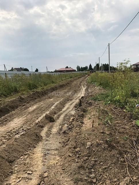 Дорожные работы на Большом поле