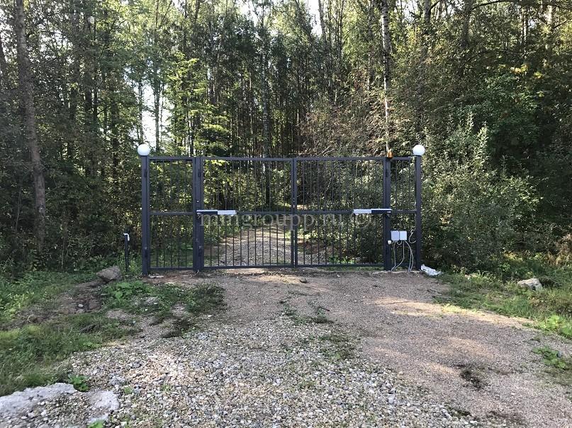 Электрификация ворот к водохранилищу и перепрограммирование брелков для прохода