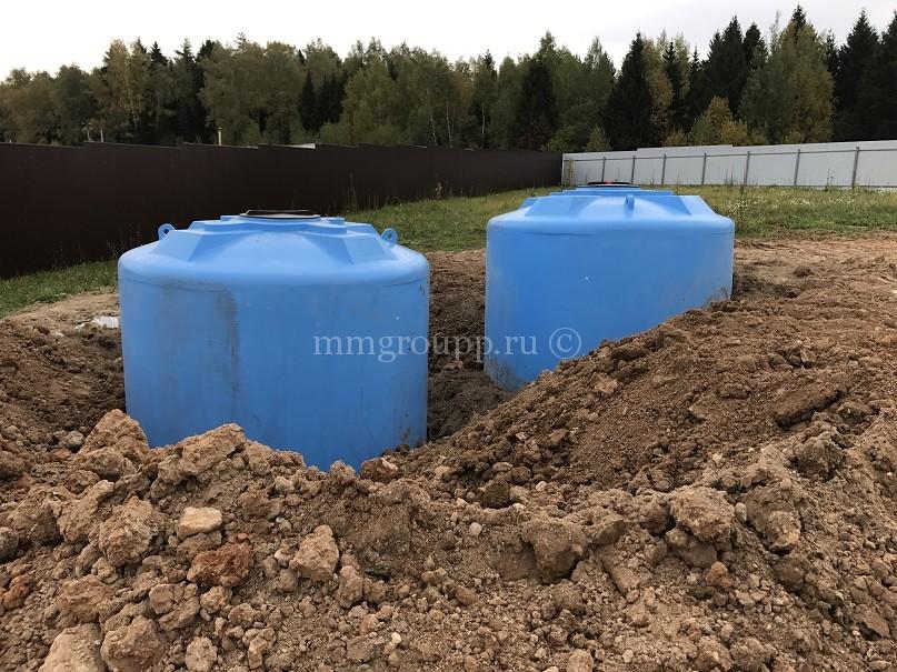 Пожарный резервуар для воды