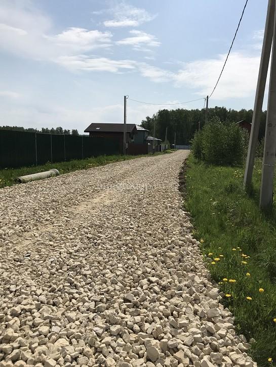Обустройство дорог в поселке