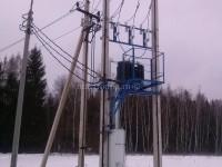 Подключение к электричеству Парус 2