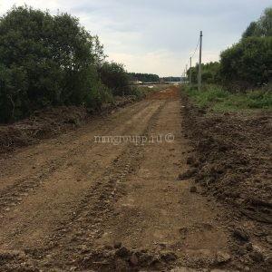 строительство дорог Березки 2