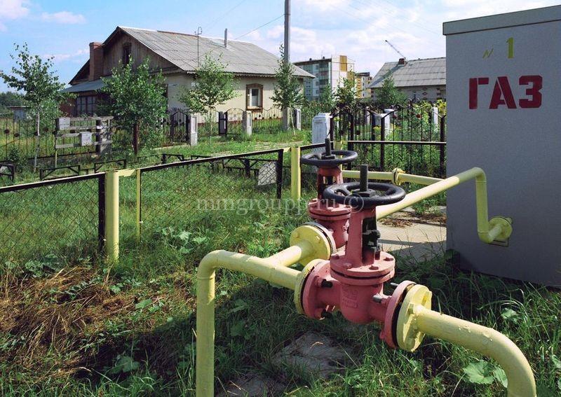 Подключение к газопроводу
