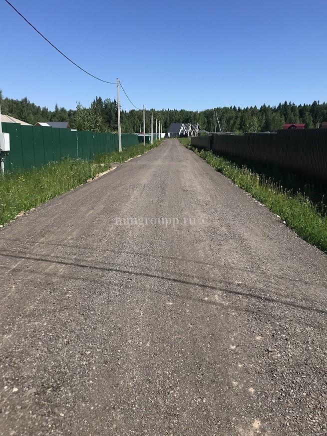 Обустройство дорог: первый этап работ завершен