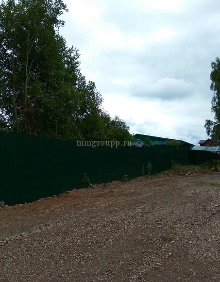 Восстановлен общий забор
